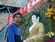 stephen with buddha