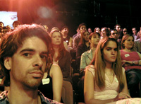 in the studio audience